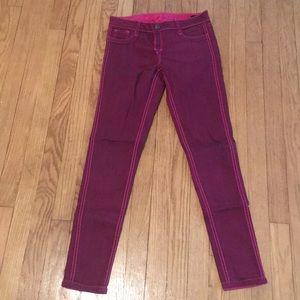 Bleulab reversible pink pants